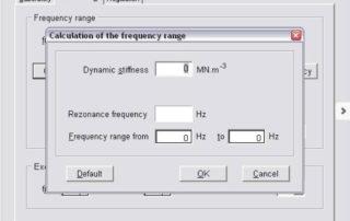Dyps3 Dynamische Steifigkeit Materialprüfung Norsonic Brechbühl Ag
